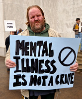 """Mental Illness is not a crime"""