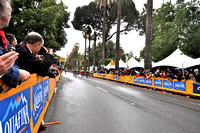 The final sprint finish